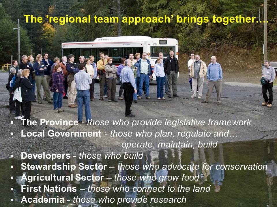Regional Team Approach_June2011