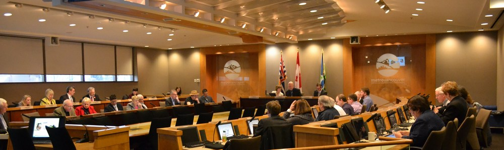 Meeting of the Metro Vancouver Regional Board on March 6, 2015