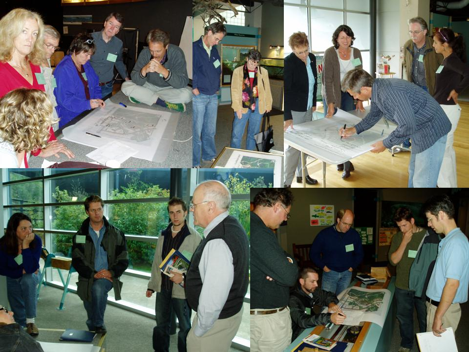 In 2007, breakout groups did a planning exercise prior to the field trip to  Eco-Village
