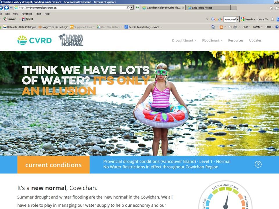 Cowichan_NewNormal website