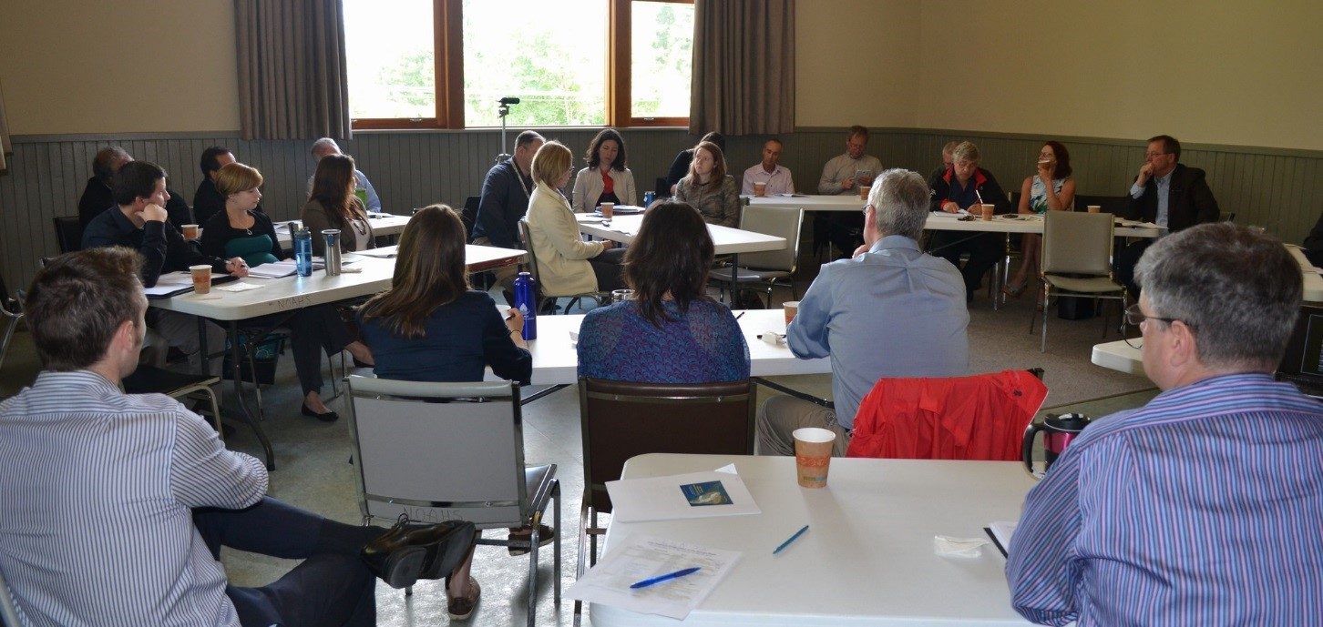 At the Inter-Regional Collaboration Session hosted by CVRD in May 2014, the 'town-hall' format encouraged interactive sharing and learning about what 'water sustainability planning' looks like in the Cowichan Region.