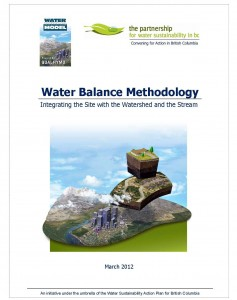 water-balance-methodology_march2012_cover