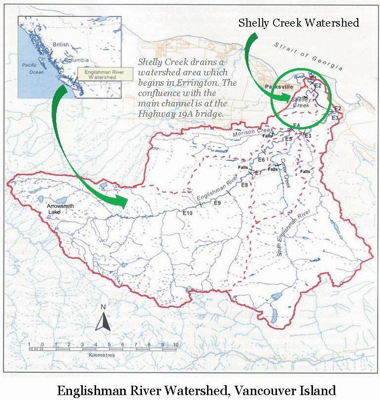 Englishman River_location map