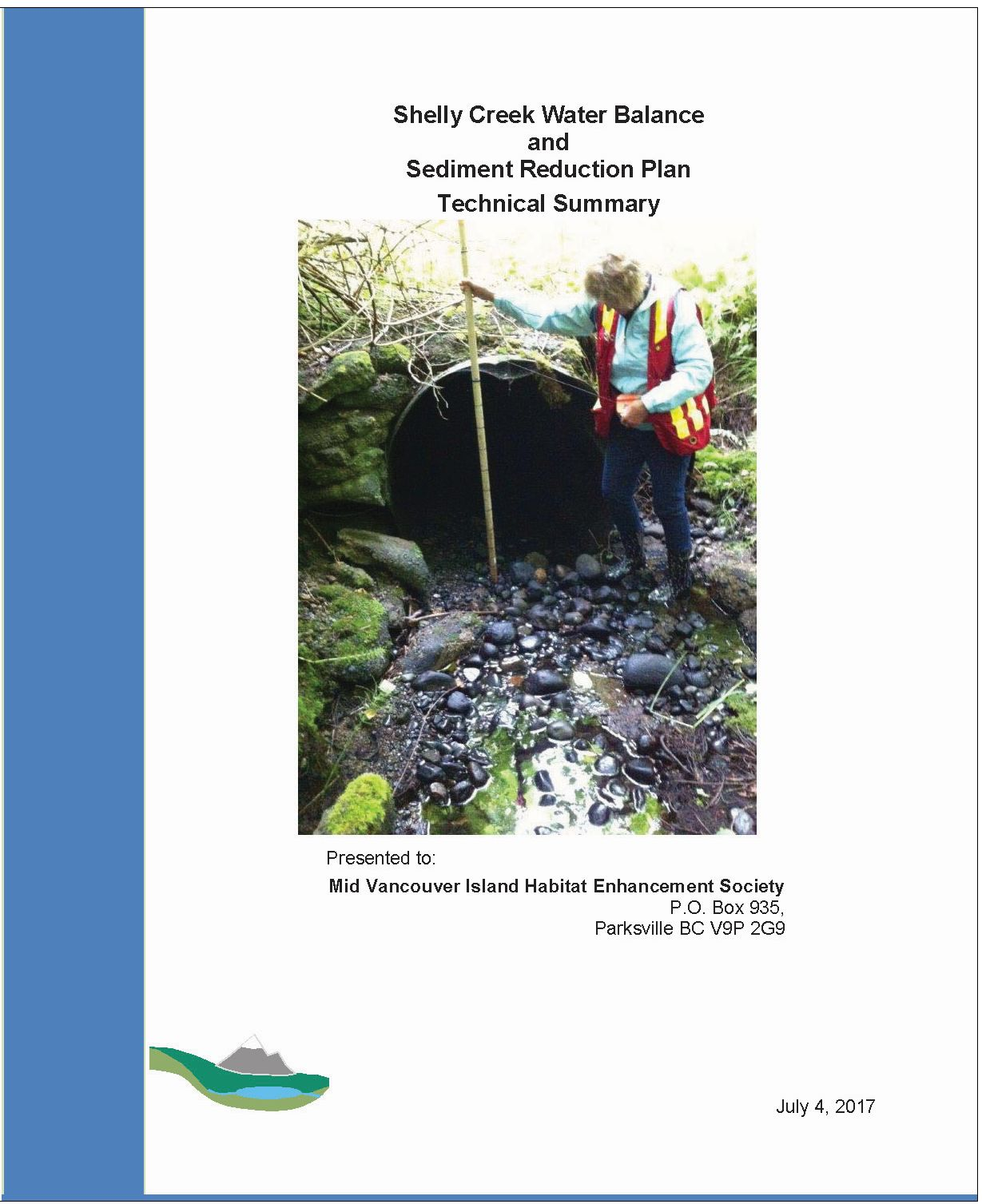 Shelly Creek WBM Report Technical Summary_July 2017_cover