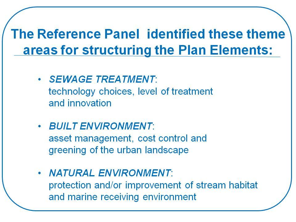 2009_Reference Panel_REAC presentation_ThemeAreas