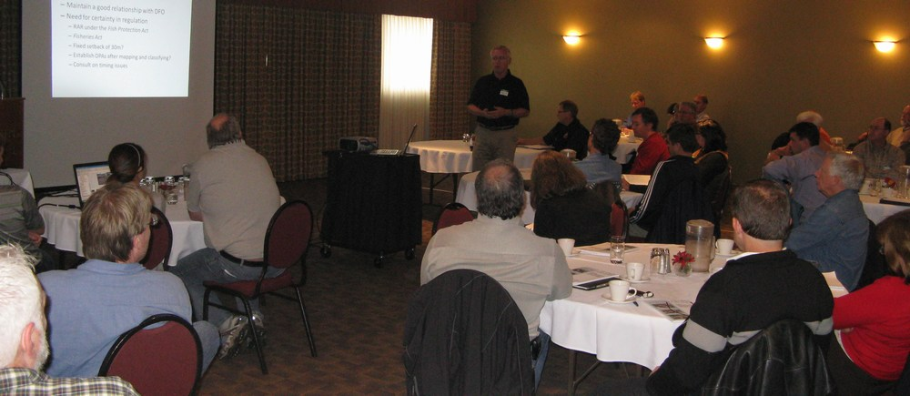 2008 Comox Valley Learning Lunch Seminar #2 - Townhall Segment (note Peter Law standing)