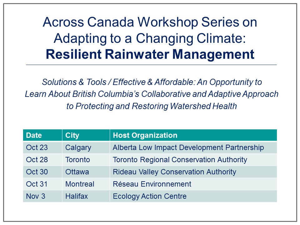 Across Canada Workshop Series_Aug2014