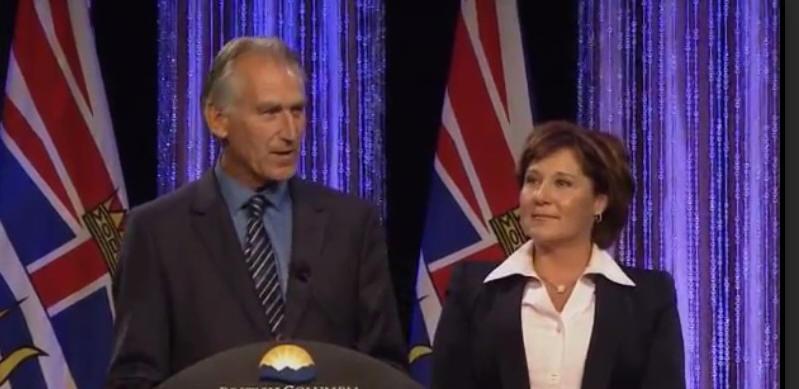 Ted van der Gulik & Premier Christy Clark