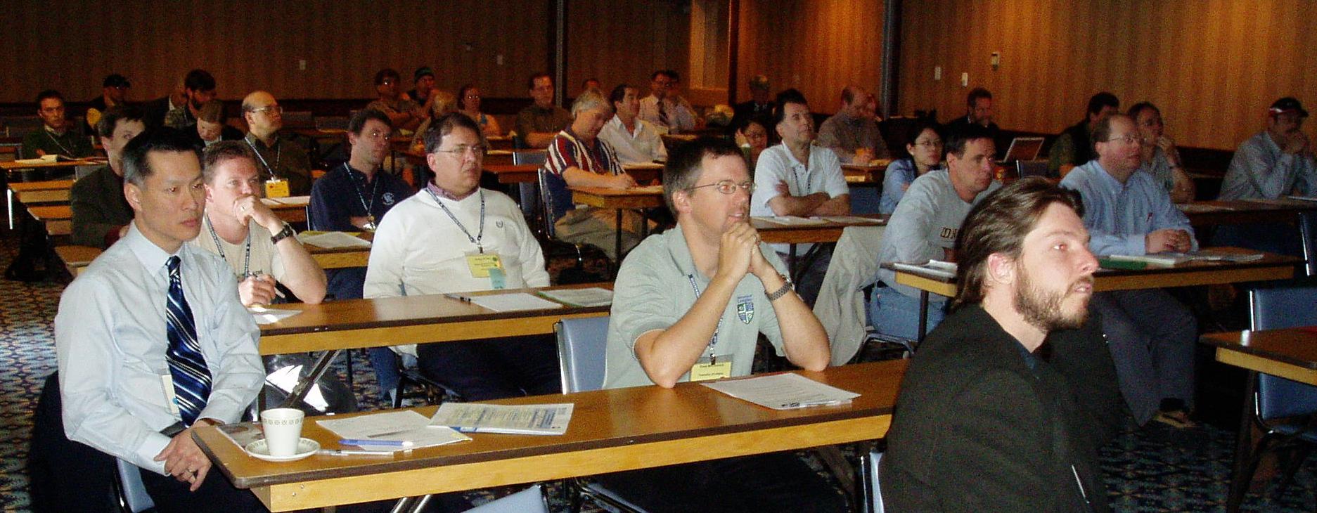 Oliver Brandes at the 2005 Workshop held in Penticton