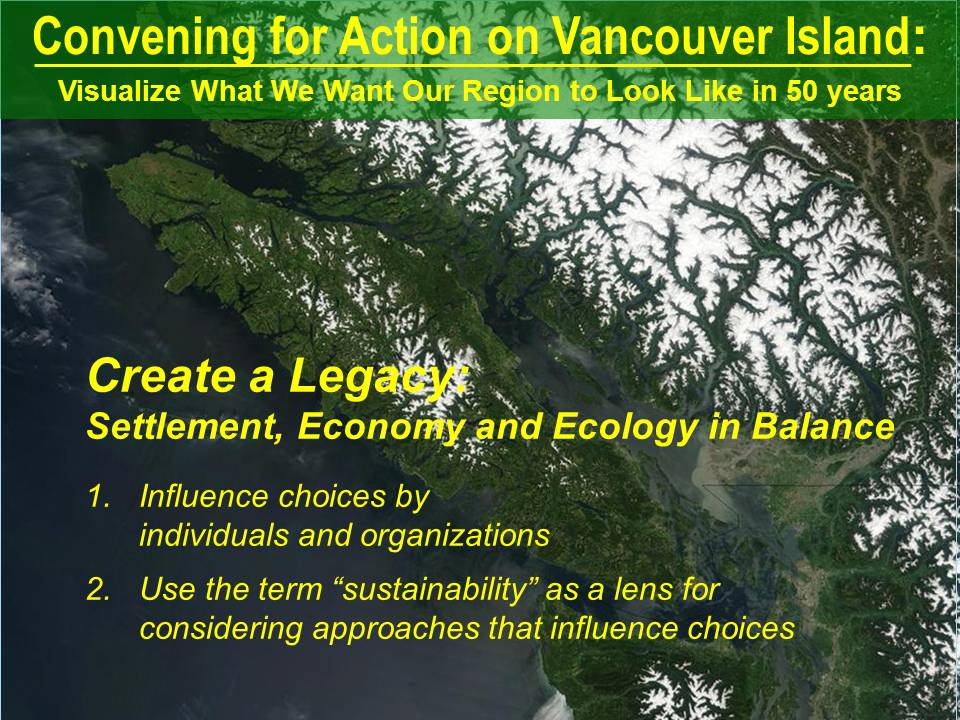 Creating a Legacy - Vancouver-Island_Sep-2012_v1