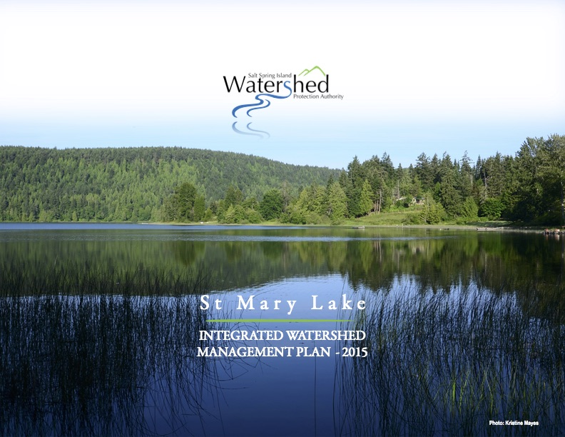 St Mary Lake IWMP-cover
