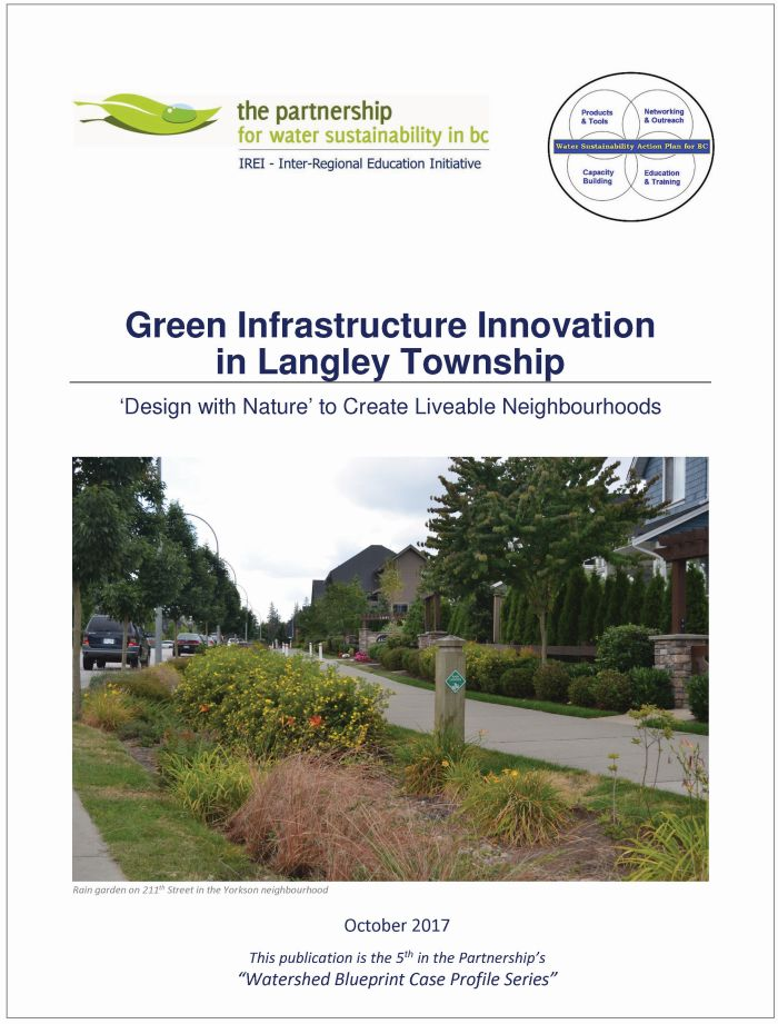 New publication green infrastructure innovation in langley township note to reader malvernweather Image collections
