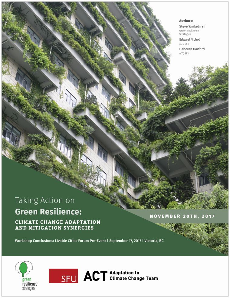 ACT_Green Resilience Report_Nov2017_cover - Partnership for